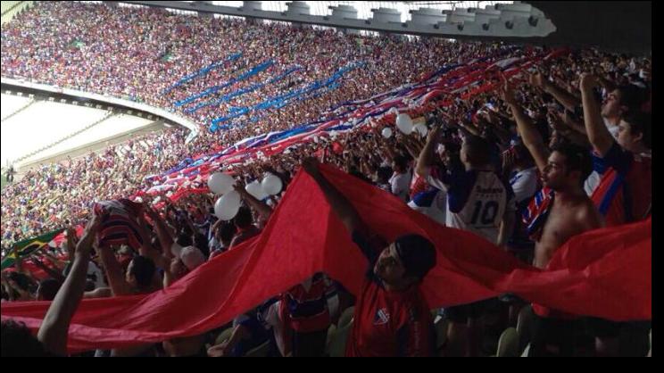Com o maior público da Série C, Fortaleza entrou no Top 10 do ranking de pagantes das quatro divisões nacionais!